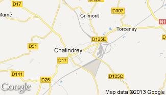 Plan de Chalindrey