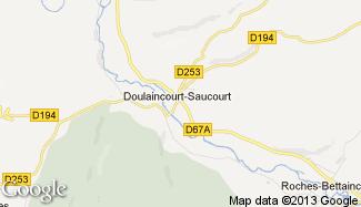 Plan de Doulaincourt-Saucourt