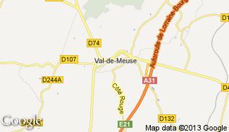 Plan de Val-de-Meuse
