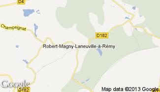 Plan de Robert-Magny-Laneuville-à-Rémy
