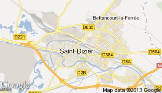 Plan de Saint-Dizier