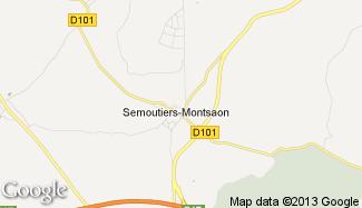 Plan de Semoutiers-Montsaon