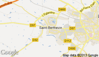 Plan de Saint-Berthevin