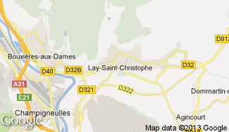 Plan de Lay-Saint-Christophe