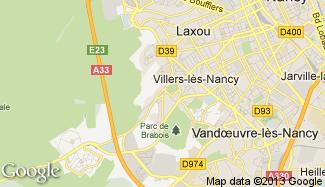 Plan de Villers-lès-Nancy