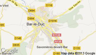 Plan de Bar-le-Duc