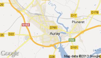 Plan de Auray