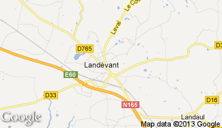 Plan de Landévant