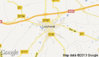 Plan de Locminé