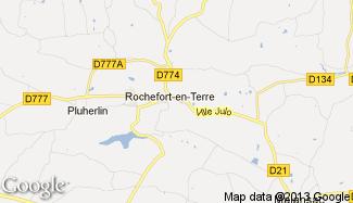 Plan de Rochefort-en-Terre