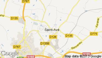 Plan de Saint-Avé