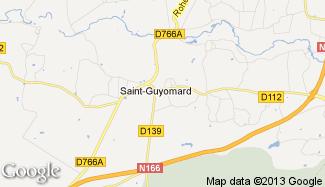 Plan de Saint-Guyomard