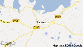 Plan de Sarzeau