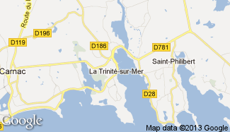 Plan de La Trinité-sur-Mer