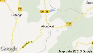 Plan de Aboncourt