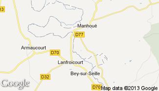 Plan de Aboncourt-sur-Seille