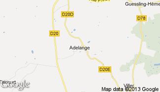 Plan de Adelange