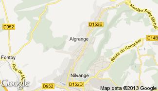 Plan de Algrange