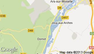 Plan de Ancy-sur-Moselle