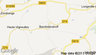 Plan de Bambiderstroff