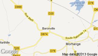 Plan de Baronville
