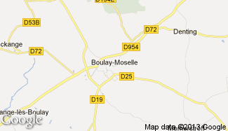 Plan de Boulay-Moselle