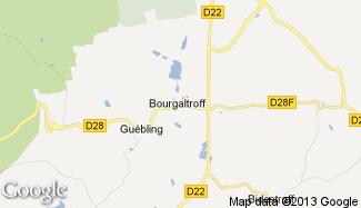 Plan de Bourgaltroff