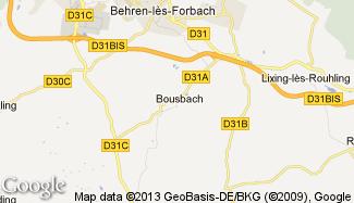Plan de Bousbach