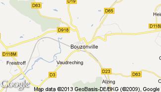 Plan de Bouzonville