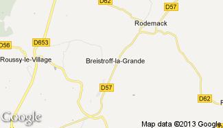 Plan de Breistroff-la-Grande
