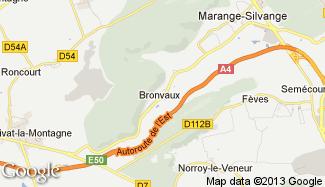 Plan de Bronvaux