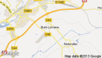 Plan de Buhl-Lorraine