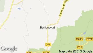 Plan de Burlioncourt