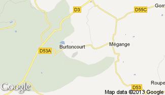 Plan de Burtoncourt