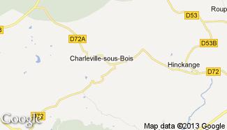 Plan de Charleville-sous-Bois