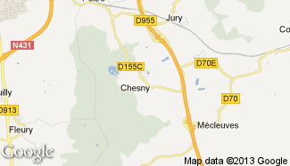 Plan de Chesny
