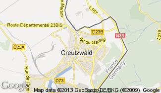 Plan de Creutzwald