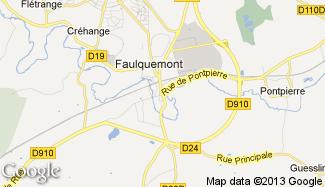 Plan de Faulquemont
