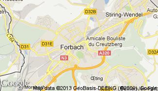 Plan de Forbach