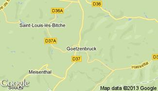 Plan de Goetzenbruck