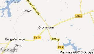 Plan de Grostenquin