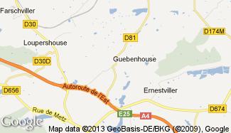 Plan de Guebenhouse
