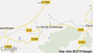 Plan de Le Val-de-Guéblange