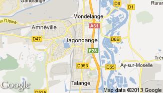 Plan de Hagondange