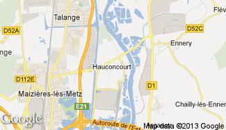 Plan de Hauconcourt