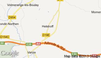 Plan de Helstroff