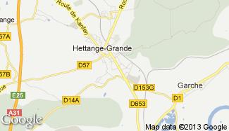 Plan de Hettange-Grande