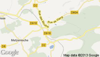 Plan de Kédange-sur-Canner