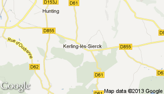 Plan de Kerling-lès-Sierck