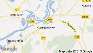 Plan de Koenigsmacker